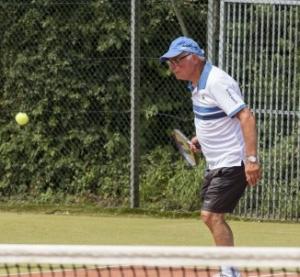 Gerard, tijdens een Jacaranda toernooi.